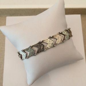 Silpada Sterling Silver Chevron Link Bracelet